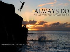 """""""Always do what you are afraid to do."""" -Ralph Waldo Emerson inspirational quote desktop wallpaper (click to download)"""