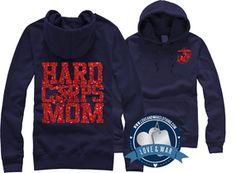 Hard Corps Mom USMC Top