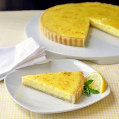 Classic #Lemon Tart - another pie alternative for the lemon lovers this #Thanksgiving.