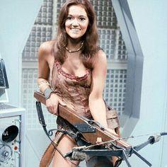 Louise Jameson as Leela - Dr. Who Companion
