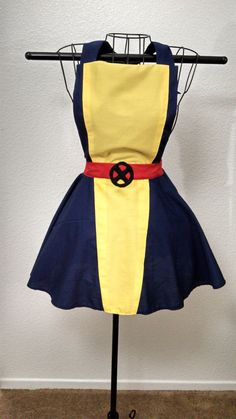 XMen Kitty Pryde Inspired Woman's Apron. Bring out your inner mutant with this apron. #xmen #kittypryde #apron