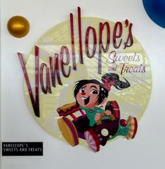 First Look at the New Disney Dream: Vanellope's Sweets and Treats - that trophy is MINE!