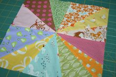 Film in the Fridge:  starburst-finished-block--need to make me a quilt from this ...