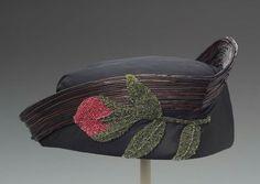 Hat  Jeanne Lanvin, 1915  The Museum of Fine Arts, Boston