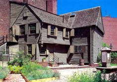Paul Revere's house, Boston's oldest building, is a national historic landmark and still attracts many tourists.