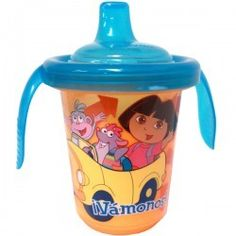 Dora the Explorer Reusable Trainer Cups at Birthday Direct Dora Toys, Dora The Explorer, Trainers, Cups, Tableware, Birthday, Tennis, Mugs, Dinnerware