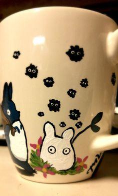 Totoro linda taza por Emvious en Etsy