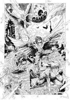 Teen Titans. Ink by sifterone.deviantart.com on @DeviantArt