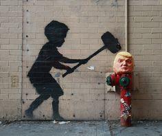 Banksy x Trump