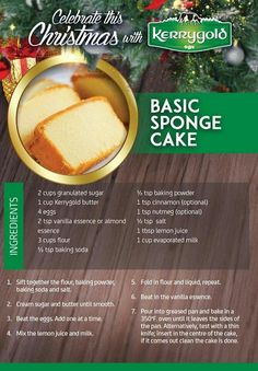 3 Ingredient Sponge Cake - Biskvit- Easy, foolproof recipe for a basic yellow sponge cake that is level, moist and perfect every time Basic Sponge Cake Recipe, Basic Cake, Sponge Cake Recipes, Pound Cake Recipes, Guyanese Sponge Cake Recipe, Trinidad Sponge Cake Recipe, Sponge Cake Easy, Cupcakes, Jars