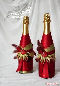 Украшаем бутылку - Клуб Новогодних Идей или Готовь сани летом. - Страна Мам