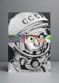 Celebridades Animadas by Rui Pinho - Buzz Lightyear / Gagarin