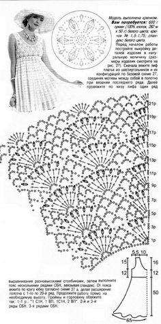 Casa da Salete: Vestidos de croche
