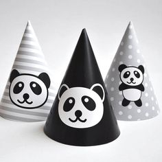 """PLEASE READ ALL THE INSTRUCTIONS BEFORE PURCHASE! WHAT YOU GET: 1) Digital File: pdf file with 5 designs of party hats on an 8.5x11"""" page. These file are sent via email. No physical product is shipped. MATERIALS YOU MAY USE: - Good quality color laser printer - Cardstock papers (8.5"""" x"""