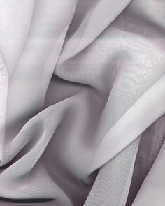 Silver Chiffon Fabric $2.79 per yard, By The Bolt