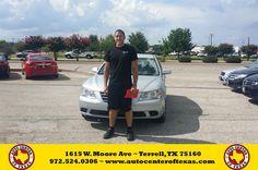 https://flic.kr/p/HDAoMQ | Congratulations Jordan on your #Hyundai #Sonata from Yader Hernandez at Auto Center of Texas! | deliverymaxx.com/DealerReviews.aspx?DealerCode=QZQH