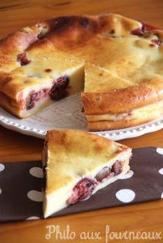 Philo aux fourneaux: Gâteau aux petits-suisses & aux figues