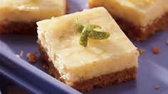 Classic Key lime pie taste in a bar!  These easy-bake citrus bars are a refreshing treat for everyday or on any dessert buffet.
