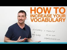 How to increase your vocabulary - YouTube
