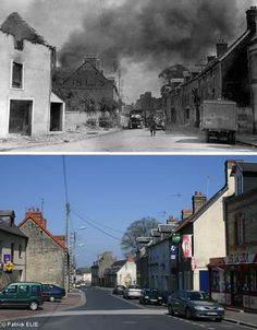 Life has changed dramatically since World War II, but this photo series by Patrick Elie shows how much Normandy has miraculously stayed the same.