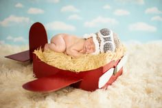 Make a DIY Box Airplane Prop for Newborn Photography » MCP Actions