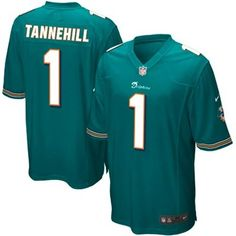 Nike Ryan Tannehill Miami Dolphins Game Jersey - Aqua 648fa2d18