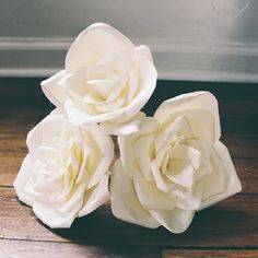 Find out how to make paper flowers that look real!