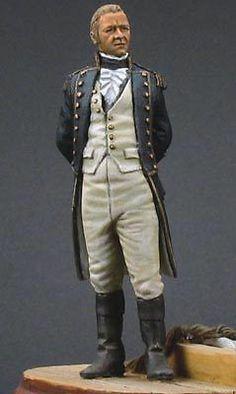 Royal Navy post captain - hello, Jack Aubrey!