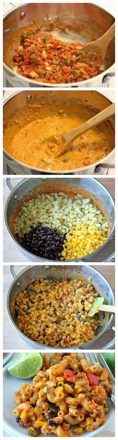 How To Chorizo Mac and Cheese