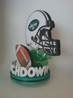 New York JETS 3D Centerpiece or Cake Topper Perfect for by JKkidz