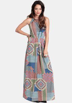 Havana Nights Maxi Dress at #threadsence @ThreadSence