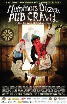 Mummers Pub Crawl Newfoundland Canada, Register Online, Pub Crawl, Play 1, Songs To Sing, Throw Pillow Cases, Thing 1 Thing 2, Folklore