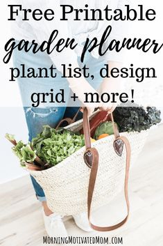 Use this Free Printable Garden Planner to help you get organized and make a plan for your garden. This works for flower and vegetable gardens. Grid Paper Printable, Free Printable Worksheets, Free Printables, Free Garden Planner, Planting, Gardening, Veggie Gardens, Best Indoor Plants, Calendar Pages