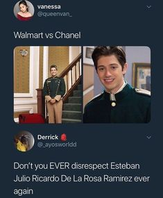 Its actually Esteban Julio Ricardo MONTOYA De La Rosa Ramirez but tbfh Esteban is fucking Gucci okay he aint no walmart shit ya moms a hoe if you think that Really Funny Memes, Stupid Funny Memes, Funny Relatable Memes, Funny Tweets, Haha Funny, Funny Posts, Funny Quotes, Hilarious, Funny Stuff