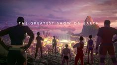 """In the new trailer for their coverage of the 2016 Olympics in Rio de Janeiro aka """"The Greatest Show On Earth"""", the BBC created a clever CGI animation Bbc, Sports Today, Rio Olympics 2016, Animation Film, Animation Reference, Rio 2016, Olympic Games, Funny Pictures, The Incredibles"""