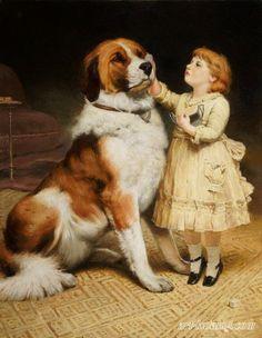 pinturas famosas con perros - Buscar con Google