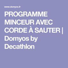 PROGRAMME MINCEUR AVEC CORDE À SAUTER   Domyos by Decathlon