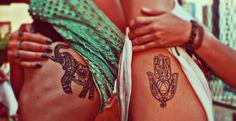 Hamsa + elephant