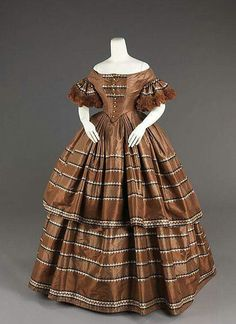 1858-1859 silk. MET Collection.