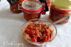Onion Chilli Chutney