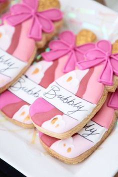Fall in love with this fab Galentine's day party! The cookies are incredible! See more party ideas and share yours at Catchmyparty.com #catchmyparty #partyideas #galentines #gals #galentinesdayparty #galentinesday #cookies