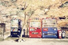 Kyoto vending machines, Japan - couldn't live with this when I was there