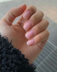 Natural Nail Shapes, Natural Nail Designs, Natural Looking Acrylic Nails, Natural Gel Nails, Classy Nails, Cute Nails, Pretty Nails, Short Oval Nails, Pointed Nails