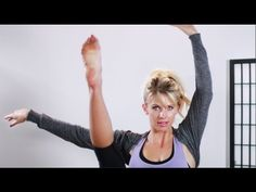Ballet workout by CarlieStylez on YouTube!