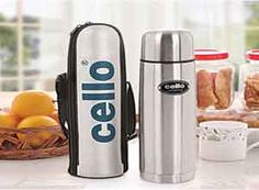 Cello Lifestyle Stainless Steel Flask 1000 Ml At Rs.584