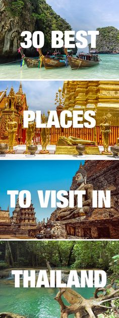 Travel Guide to the Best Places to Visit in Thailand.