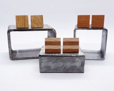 Premium and vintage wood accessories, wood cufflinks, groomsmen gift cufflinks, Father's day present. Wood Gift Box, Wood Gifts, Gifts For Father, Gifts For Him, Groomsman Gifts, Vintage Wood, Chandelier Earrings, Sunscreen, Wood Grain