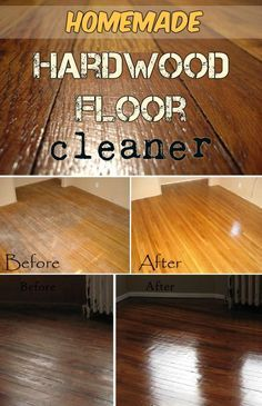 Homemade Wood Floor Cleaning Solution