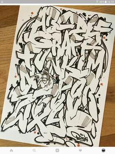 Letters of the alphabet clout magazine kool p a b c graffitiart graffiti tags streetart altavistaventures Gallery