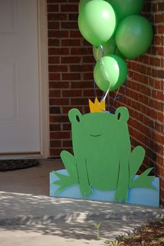 Frog Prince Birthday Party Ideas | Photo 13 of 15